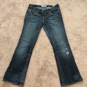 MEK Denim Mazatlan Low Rise Bootcut Jeans 28 x 29L